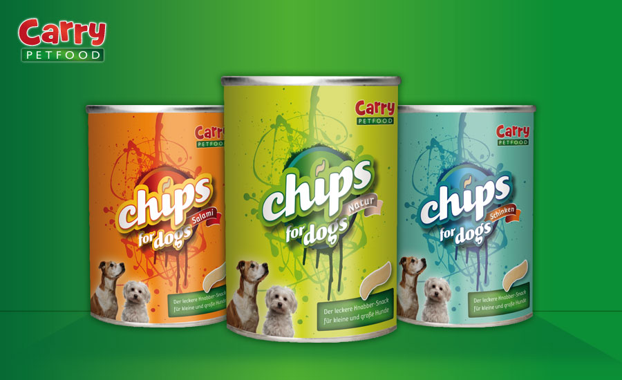Carry Pet Food Branding und Packaging